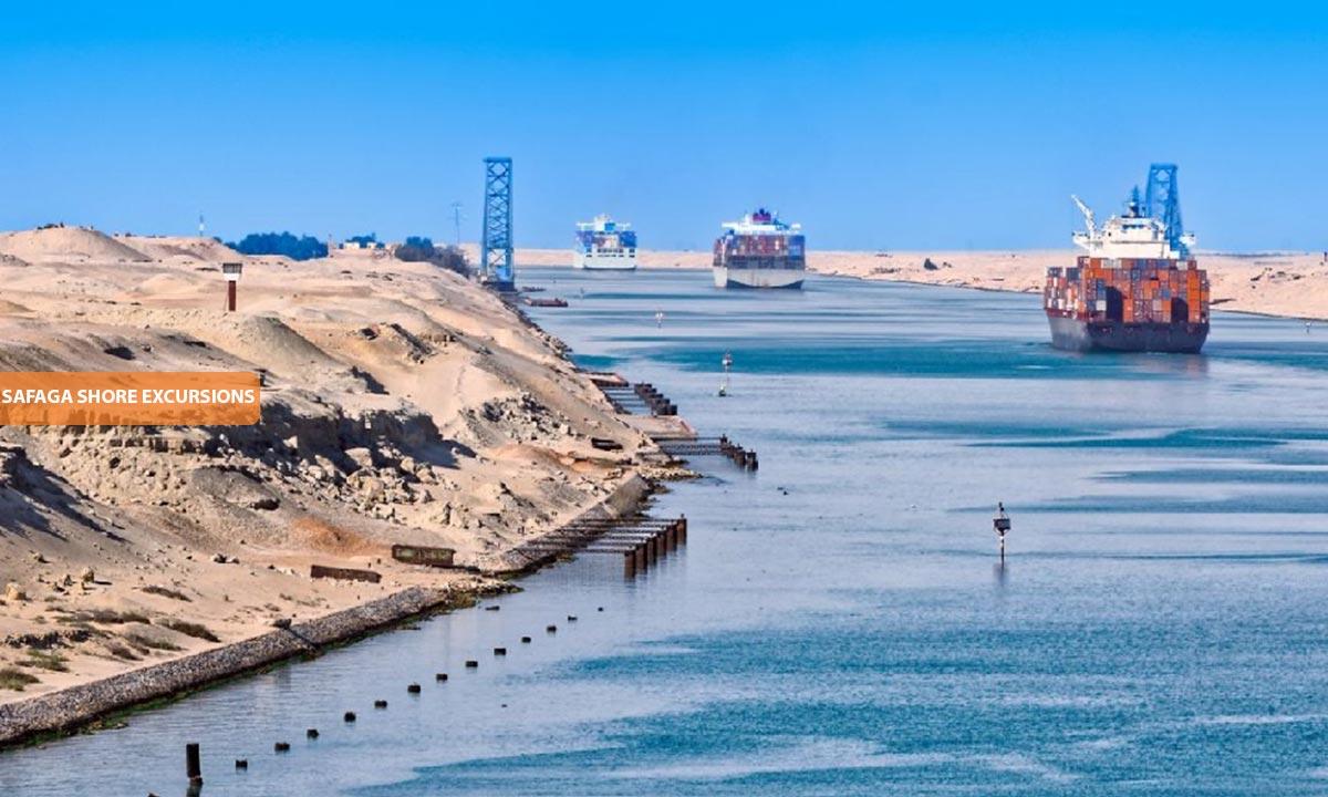 Suez Canal - Safaga Shore Excursions