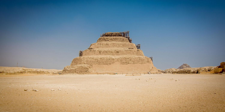 Saqqara Step Pyramid - Safaga Shore Excursions