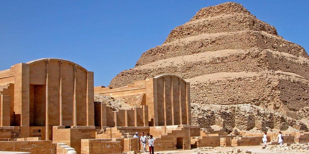 Saqqara Step Pyramid Structure - Safaga Shore Excursions